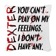 Feelings Woven Throw Pillow