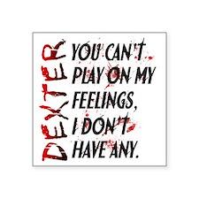 """Feelings Square Sticker 3"""" x 3"""""""