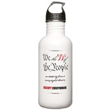 WeThePeople11x17 Water Bottle