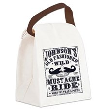 MUSTACHE_RIDE Canvas Lunch Bag