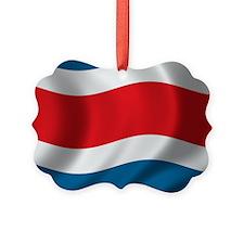 costarica_flag Picture Ornament