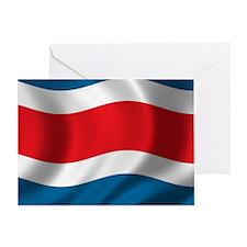 costarica_flag Greeting Card