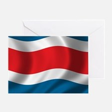 costarica_flag Greeting Card