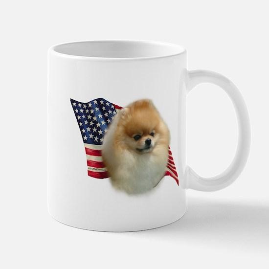 Pomeranian Flag Mug