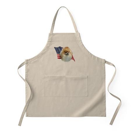 Pomeranian Flag BBQ Apron