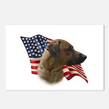 Ridgeback Flag Postcards (Package of 8)