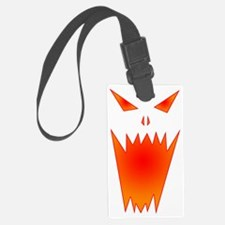 TerrorFaceColor Luggage Tag