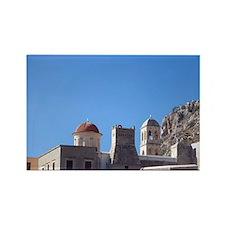 Greece, Crete. Moni Gonias Monast Rectangle Magnet