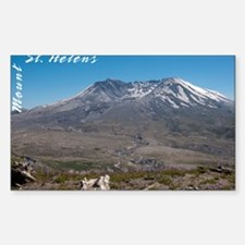 Mt St Helens-0296-2 Sticker (Rectangle)