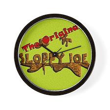 The Original Sloppy Joe V3.0 Wall Clock