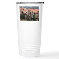 Greece, Meteora. Overview of Va Travel Mug