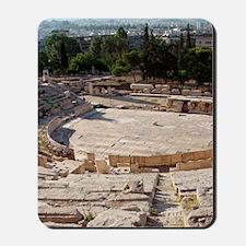 Greek Art. The Theatre of Dionysus. Buil Mousepad