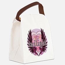 breaking dawn twilight heart wing Canvas Lunch Bag