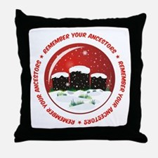 Remember Your Ancestors Throw Pillow