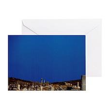 Greece, Aegean Sea, Delos. Greco-Rom Greeting Card