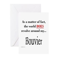 Bouvier World Greeting Cards (Pk of 10)