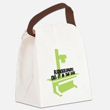 Radiographers Do It In the Dark C Canvas Lunch Bag