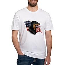 Rottweiler Flag Shirt