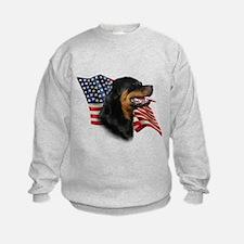 Rottweiler Flag Sweatshirt