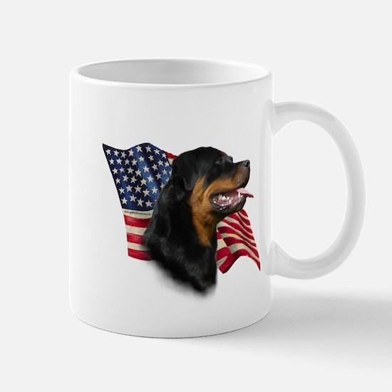Rottweiler Flag Mug