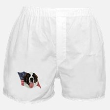 Saint Bernard Flag Boxer Shorts