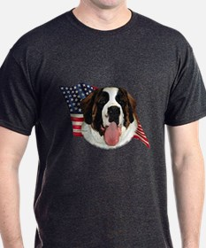 Saint Bernard Flag T-Shirt