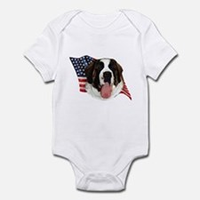 Saint Bernard Flag Infant Bodysuit