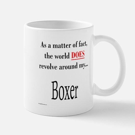 Boxer World Mug