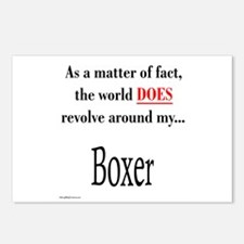 Boxer World Postcards (Package of 8)