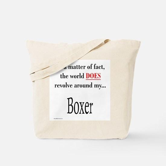 Boxer World Tote Bag