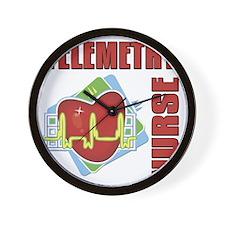 Telemetry Nurse Wall Clock