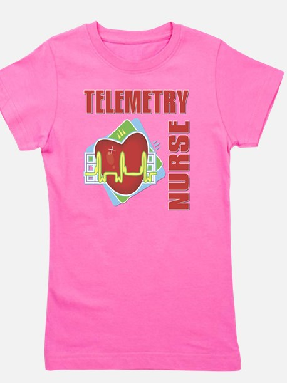 Telemetry Nurse Girl's Tee
