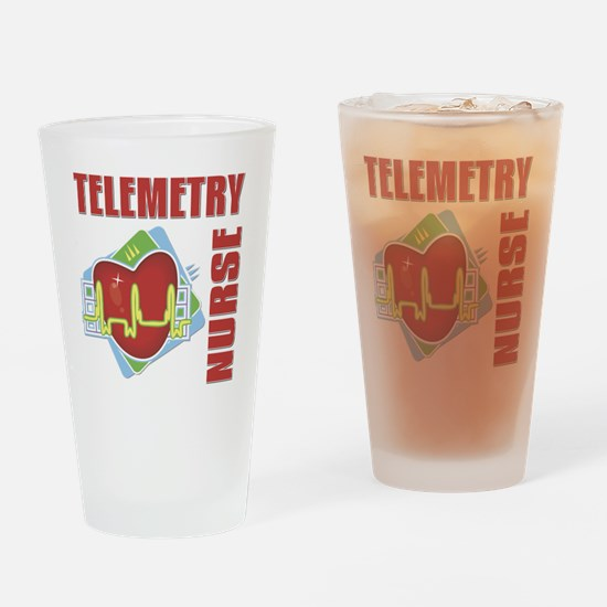 Telemetry Nurse Drinking Glass