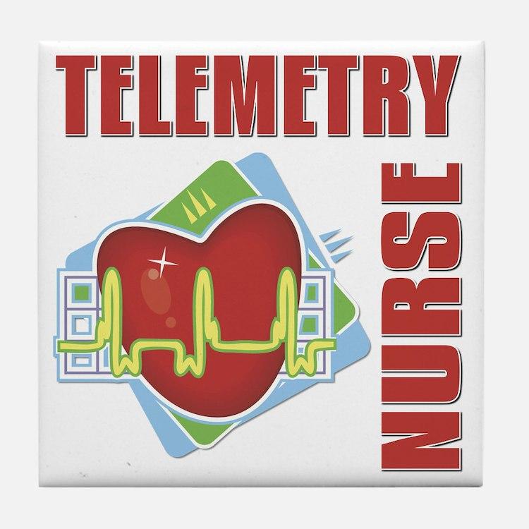 Telemetry Nurse Tile Coaster