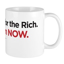 End welfare for the rich Mug