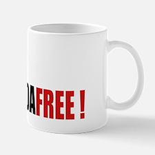 Victory Hand - Gaddafi Free Mug