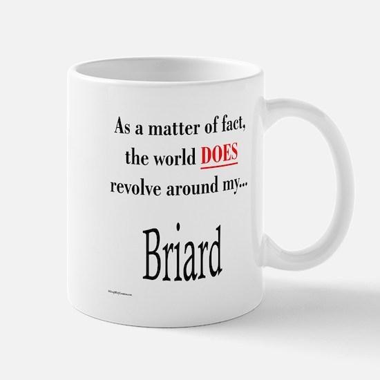 Briard World Mug