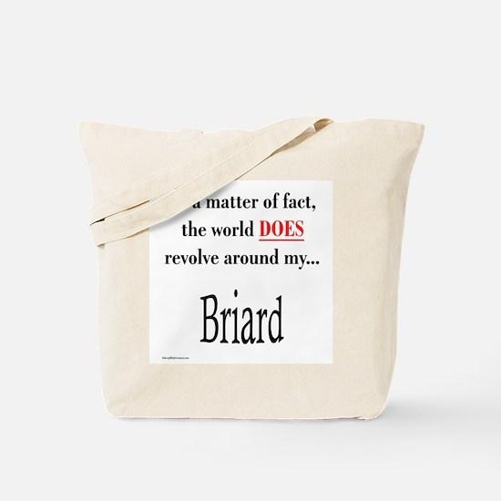 Briard World Tote Bag