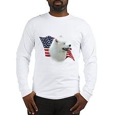 Samoyed Flag Long Sleeve T-Shirt