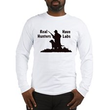 labrador hunting Long Sleeve T-Shirt