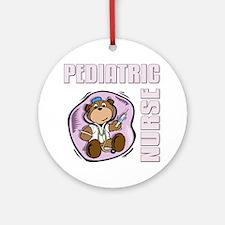 Pediatric Nurse Round Ornament