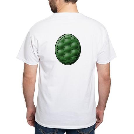 Turtle Shell White T-Shirt