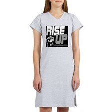 rise up the 99% revolution 1 Women's Nightshirt