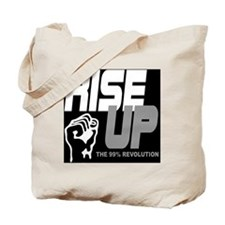 rise up the 99% revolution 1 Tote Bag