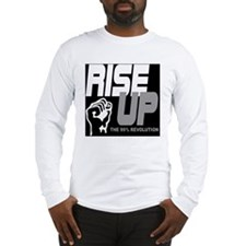 rise up the 99% revolution 1 Long Sleeve T-Shirt