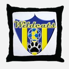 WildcatsSheild1.3 Throw Pillow