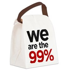 we99 shirt big Canvas Lunch Bag