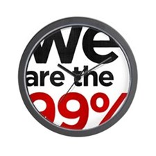 we99 shirt big Wall Clock