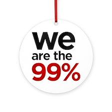 we99 shirt big Round Ornament