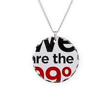 we99 shirt big Necklace
